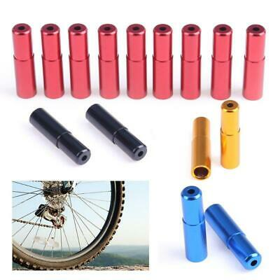 8 x Outer Housing Brake Gear Wire Cable End Caps Ferrules Covers Tidies red blue