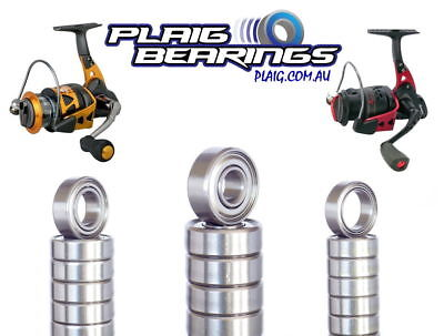 Fishing Reel Bearings - High Quality Stainless Steel Balls - Corrosion Resistant