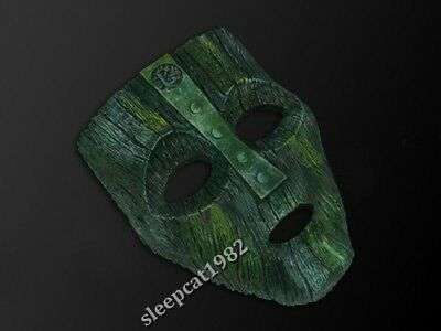 Resin Loki's The Mask Cosplay Movie Prop 1:1 Replica #A
