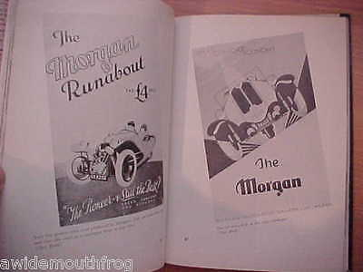 More Morgan A Pictorial History Of The Morgan Sports Car Gregory Houston Bowden