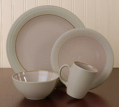 Mikasa Potters Art Cafe Latte 4 Piece Set