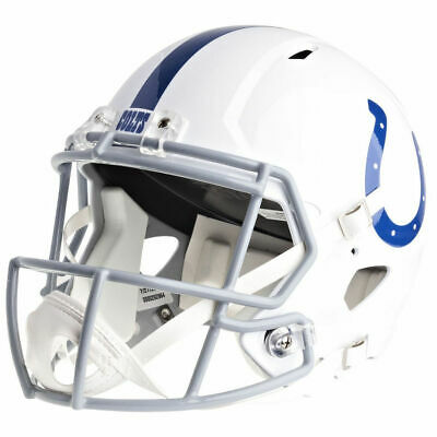 Indianapolis Colts Riddell Speed Nfl Full Size Replica Football Helmet