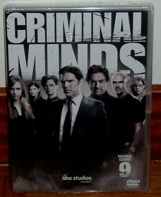 Mentes Criminales-9º Temporada Completa-5 Dvd-Nuevo-New Sealed-Castellano-Series