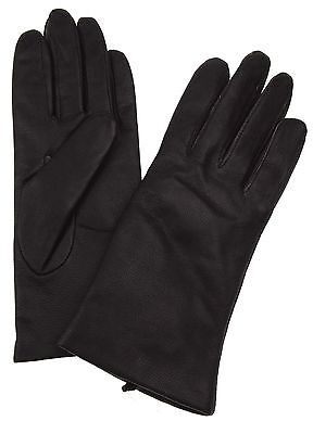Jaclyn Smith Leather Driving Dress Gloves 3M Thinsulate Lined Womens Warm Winter