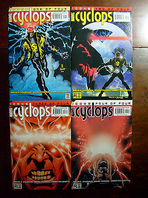 Cyclops #1-4 (2001, Marvel) X-Men Icons 4 BK LOT Glossy VF NM SET
