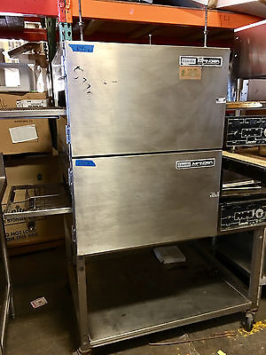 Pizza Conveyor Ovens, Double Stack, Lincoln Impinger 116