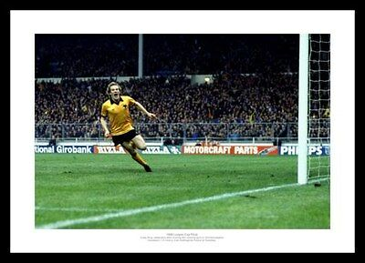 Wolverhampton Wanderers 1980 League Cup Final Andy Gray Goal Photo (184)