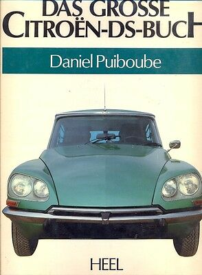 Citroen DS - superb large format book Das Grosse Citroen-DS-Buch