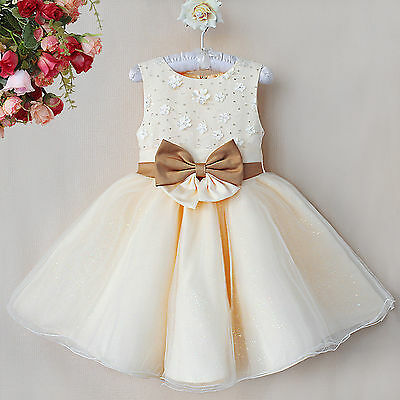 Flower Girl/Bridesmaid/Party/Christening/Christmas/Prom/Communion Dress