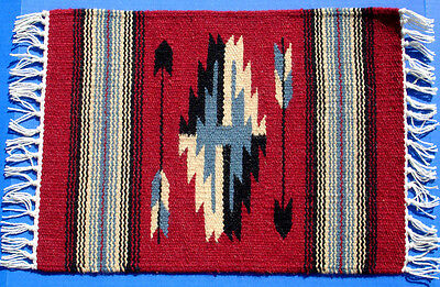 """Western Decor Southwestern Design 15"""" X 20"""" Table Rug/placemat"""