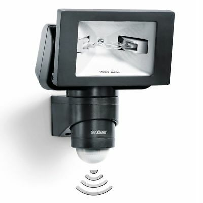 New Steinel Sensor-switched Outdoor Floodlight HS 150 DUO Black Security Lamp