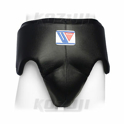 Winning Boxing Groin Protector CPS-500 Black, Standard Cut, New from Japan
