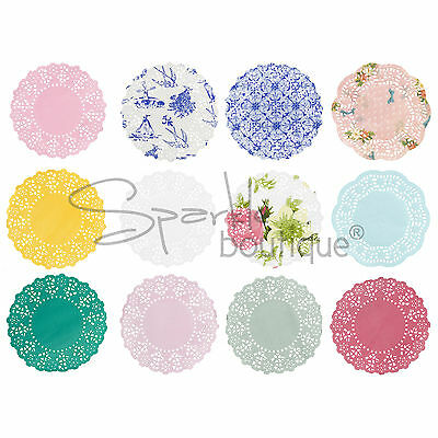 MINI PAPER DOILIES x100 -Wedding & Party Table Decorations/Coasters/Doilys/Doily