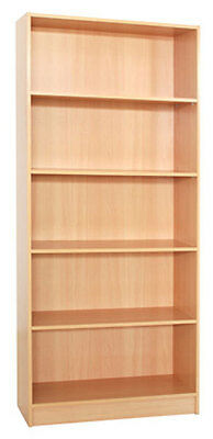 Mission Bookcase - 1800(H) X 800(W) - Beech