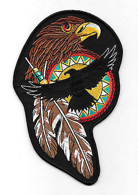 HAWK Embroidered Patch  Sm