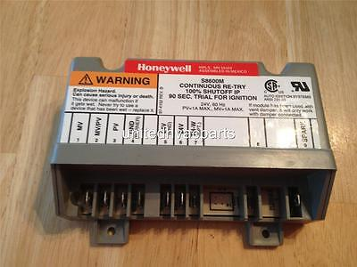 Honeywell S8600M Ignition Control Module Continuous Re-Try 100% Shut-Off