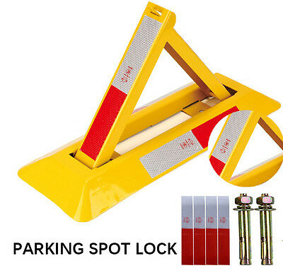 PARKING SPOT LOCK  PROTECT YOUR Parking  EASY INSTALL BARRIER LOCK FREE SHIPPING