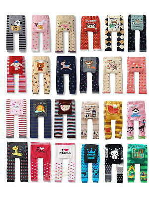 Baby Toddler Boys Girls Cotton Animal Leggings PP Pant 39 model 0-36 Months / M