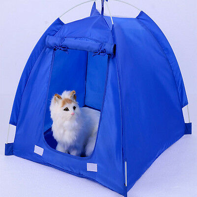 New Outdoor Removable Washable Camping Dog Cat Pet Tent House Waterproof Taffeta