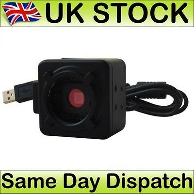 HD USB 5.0MP Electronic Digital Eyepiece Camera CMOS for Microscopes C-mount UK