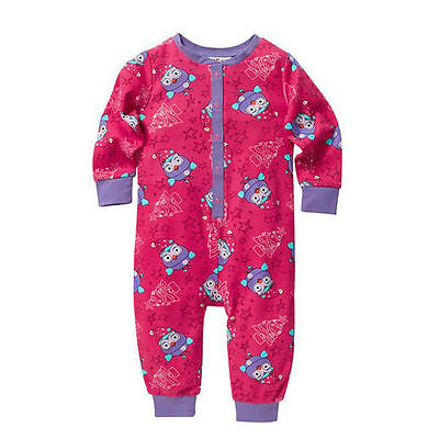 Giggle and Hoot - Hootabelle jumpsuit sleepsuit pyjamas with Christmas theme