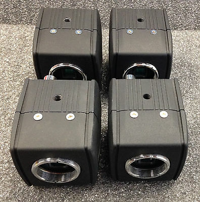 Lot of 4 - Pelco; Color Digital Security CCD Camera; Model: CCC1300H-2