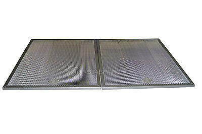 2x Rangehood Aluminium Filters: Suits Robinhood and Fisher and Paykel