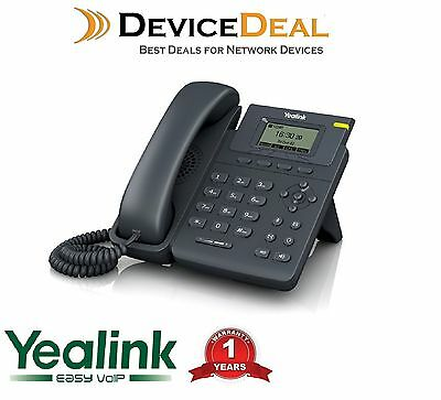 Yealink SIP-T19P Enterprise HD IP Phone Entry-Level Single Line IP Phone