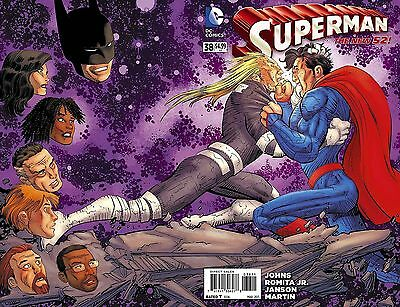 Superman # 38 (Sold Out! Wrap Around Cover, Mar 2015), Nm/mt New