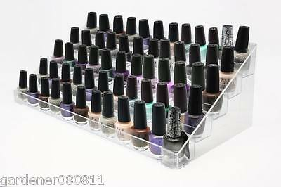 5-Tier Nail Polish Vanish 70-90 bottles holder Acrylic Makeup Display Stand OPI