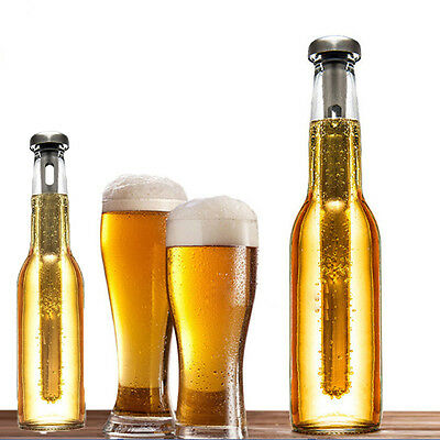 2 pcs Beer Chiller Stick - Stainless Steel - Chill Beer Instantly Beer Cooler