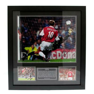 Denis Bergkamp - Signed Framed Print