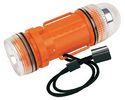 Underwater Strobe Light and Flashlight, Orange