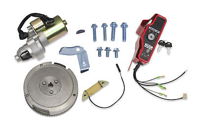 New Electric Starter Motor Kit For Honda GX340 GX390 Flywheel Coil Ignition Box