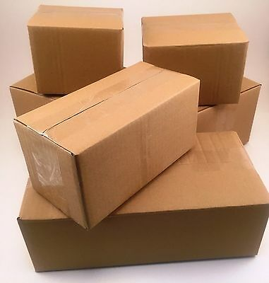 200 7x5x3 Corrugated Cardboard Shipping Boxes -Packing -Cartons -Mailing -Moving