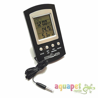 LCD Digital Max/Min Thermometer Hygrometer Alarm + temperature probe
