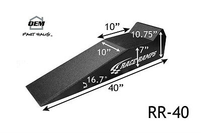 """NEW Race Ramps RR-40 Pair of 40 inch Lightweight Sport Ramps Sports Car 7"""" Tall"""