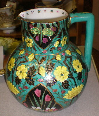 Large Signed Handpainted ROYAL VIENNA Pitcher