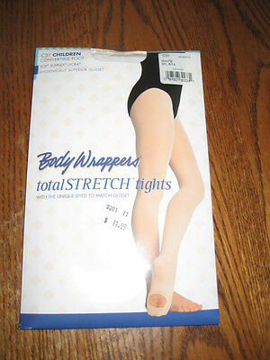 New BODY WRAPPERS Children Dance C31 CONVERTIBLE TIGHTS various colors S/M M / L