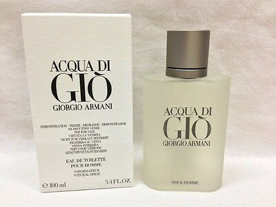 ACQUA DI GIO By GIORGIO ARMANI Cologne For MEN 3.4 OZ edt Spray NEW W/CAP SALE!