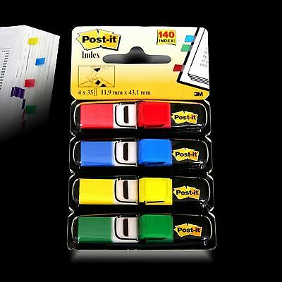 Post-it® Index Mini 683-4  Haftstreifen - Haftmarker - Z-Marker 4x 35 im Spender