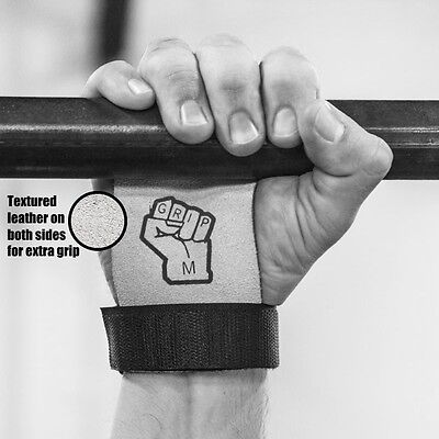 iGRIP Crossfit Gym Gymnastics Leather Palm Protector Guard Grip Pull Up Weights
