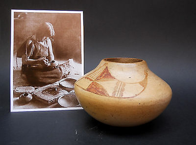 NAMPEYO of Hano! REDUCED Price! RARE Early Keam Collection Era HOPI Pottery Bowl