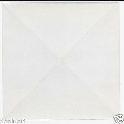100 JUMBO 80x80mm Transparent Corners for Covers Hold ANY Cover Securely! $19.99