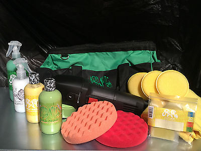 Dodo Juice Buff Daddy PRO 900W DA Full Detailing Kit REDUCED MUST SEE PACKAGE!!!