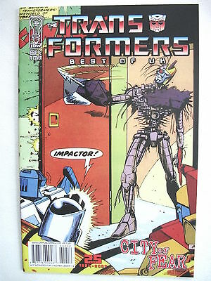 Transformers Best Of Uk: City Of Fear # 2 (1St Print, R1 Cover, Mar 2009), Nm/m