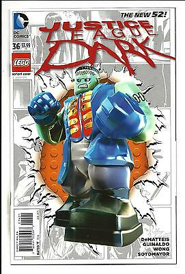 Justice League Dark # 36 (Lego Variant Cover, Jan 2015), Nm/m New
