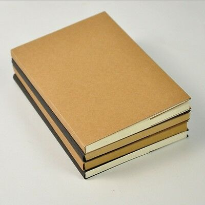 """Soft Breeze"" 1pc Blank Sketchbook Working Study Notebook Journal Diary Planner"