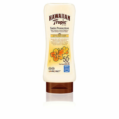 Hawaiian Tropic Satin Protection Sun Lotion SPF 50 Tottle 180ml