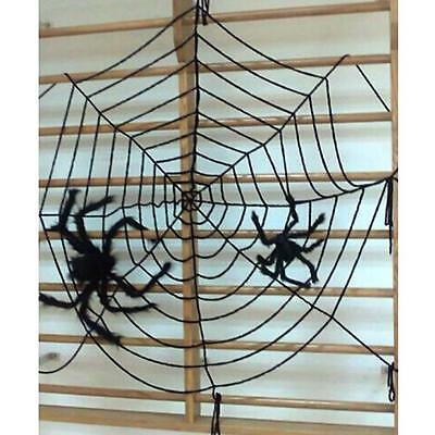 New Halloween Party Huge Spider Web Net Haunted Home Bar Decoration 1.5m/3m B